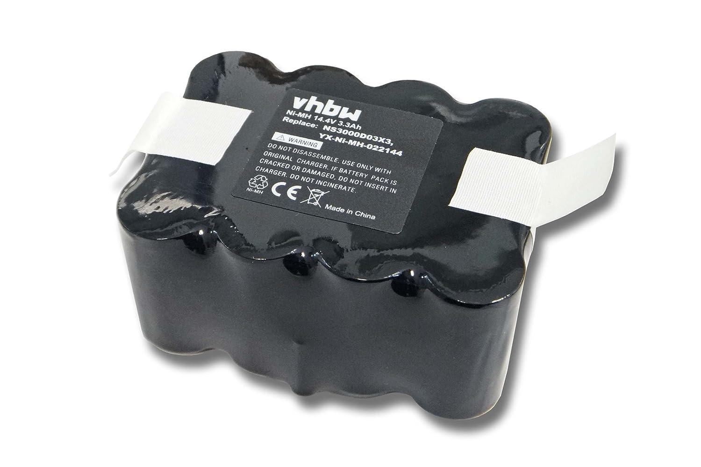 vhbw Ni-MH batteria 3300mAh (14.4V) per attrezzo Solac Ecogenic ...
