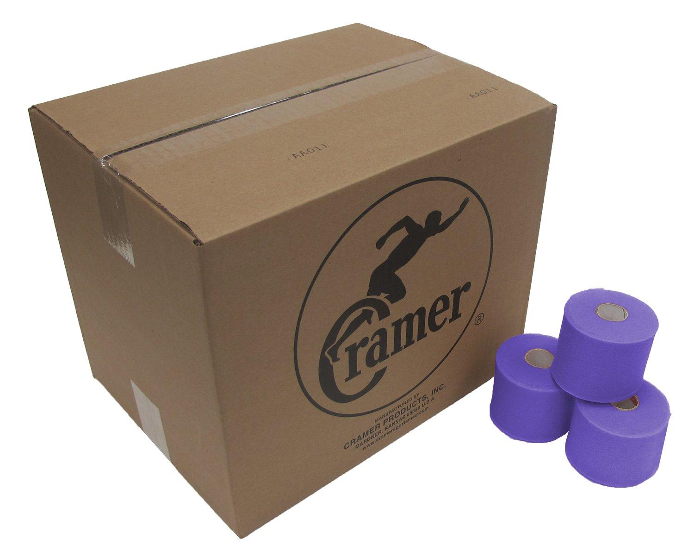 Cramer Tape Underwrap, Bulk Case of 48 Rolls of PreWrap for Athletic Taping, Hair Tie, Headband, Patellar Support, Pre-Wrap Athletic Tape Supplies, 2.75'' X 30 Yard Rolls of Pre Wrap