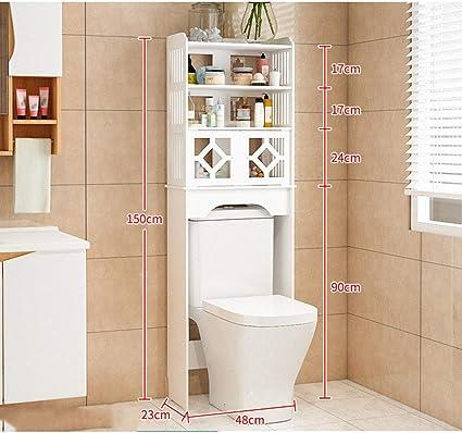 Zihuad Badezimmer Aufbewahrungsschrank Toiletten Ablage Toiletten Ablage Wc Boden Ablage Toiletten Ablage Ablagekorb Legierung Farbe Zw0074 Xm 0 00watts Amazon De Kuche Haushalt