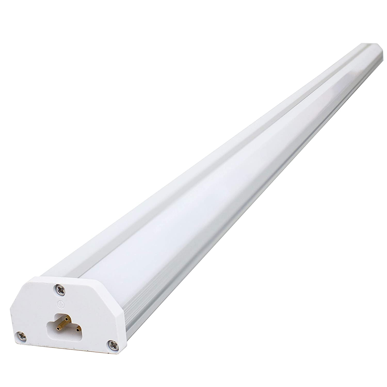 Atm led double integrated t5 led commercial grade utility shop light