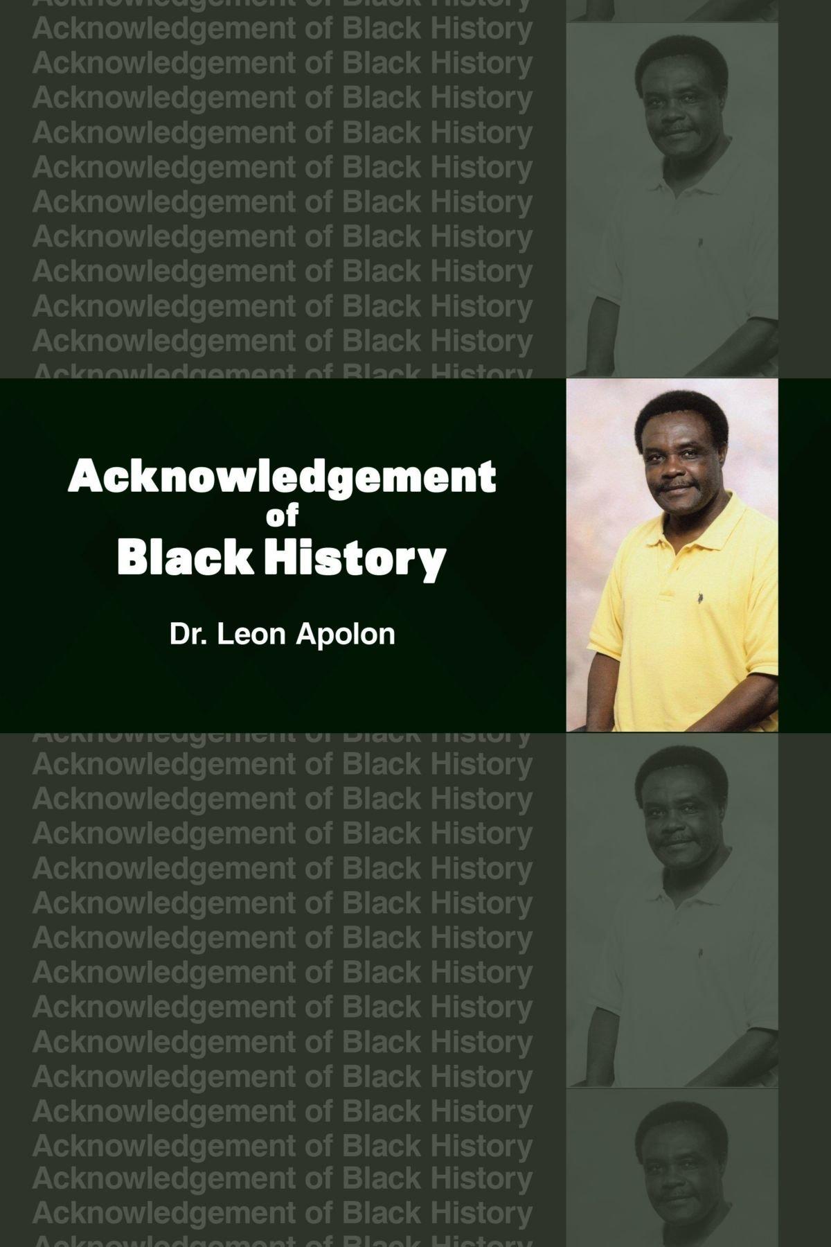 Acknowledgement Of Black History PDF Text fb2 ebook