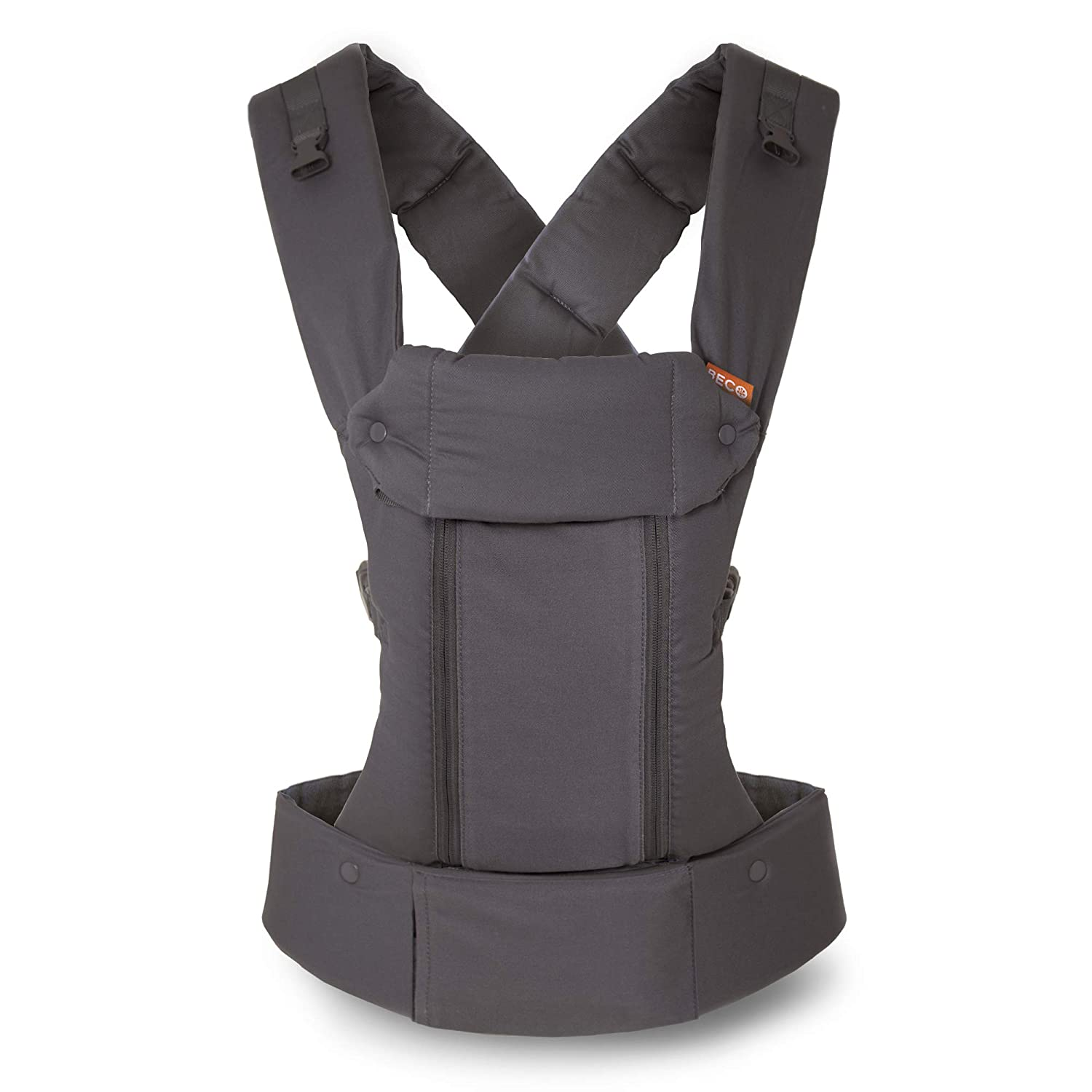 Beco 8 - Dark Grey - All Seasons 360 Ergonomic Airflow Baby Carrier comes Complete with Infant Insert, Removable Lumbar Support, 360° of Comfort for Parent and Child Beco Baby Carrier BECO8G01