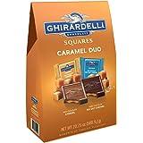 Ghirardelli Milk Caramel Chocolate Squares 20.75 Ounce Bag Dark Chocolate Sea Salt