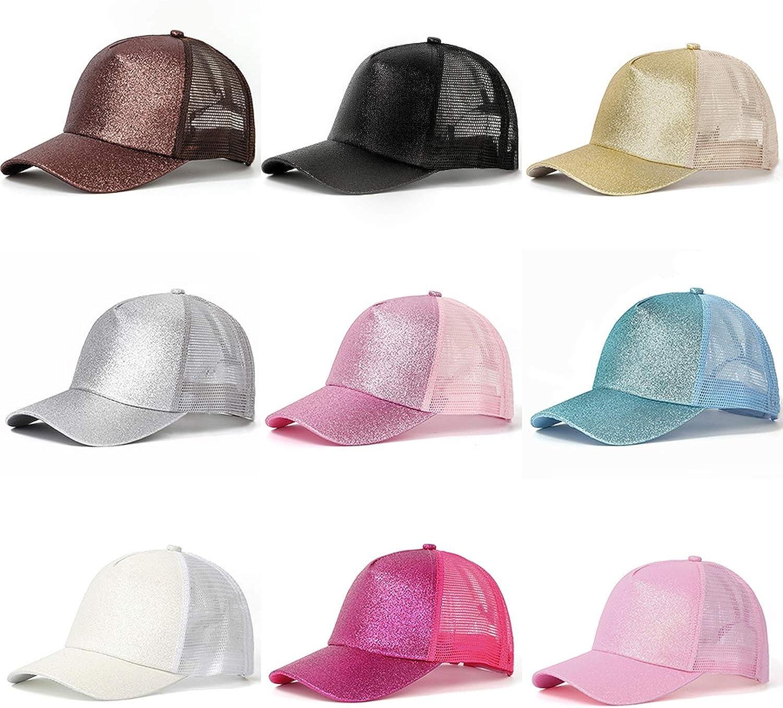 Baseball Cap Women Mesh Baseball Hats Summer Beach Cap Snapback Sun Hats Hole,Camouflage,Without tag