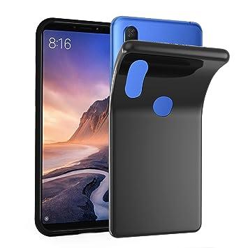Cadorabo Funda para Xiaomi Mi MAX 3 en Negro: Amazon.es: Electrónica