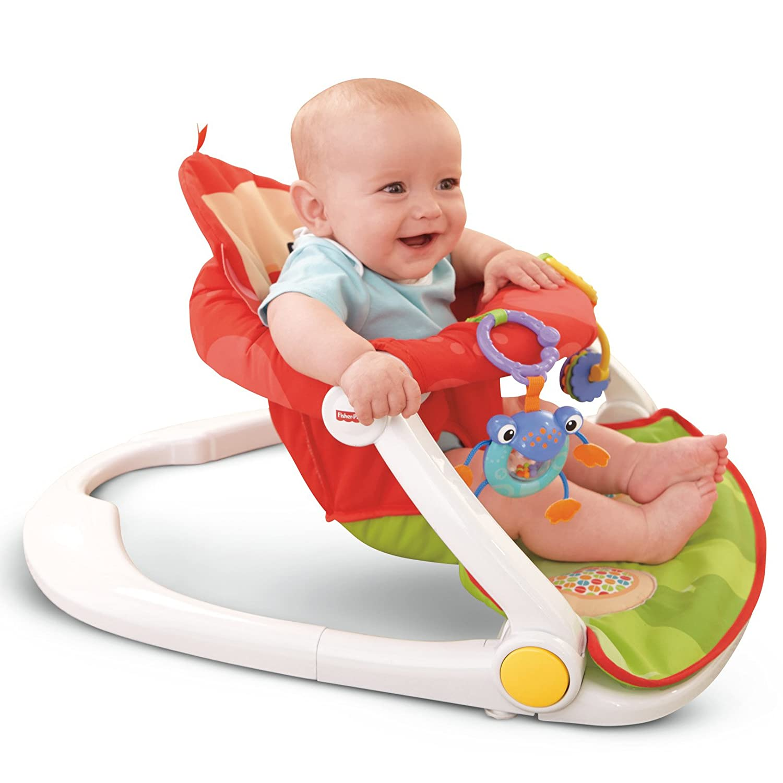 Amazon Fisher Price Deluxe Sit Me Up Floor Seat Infant