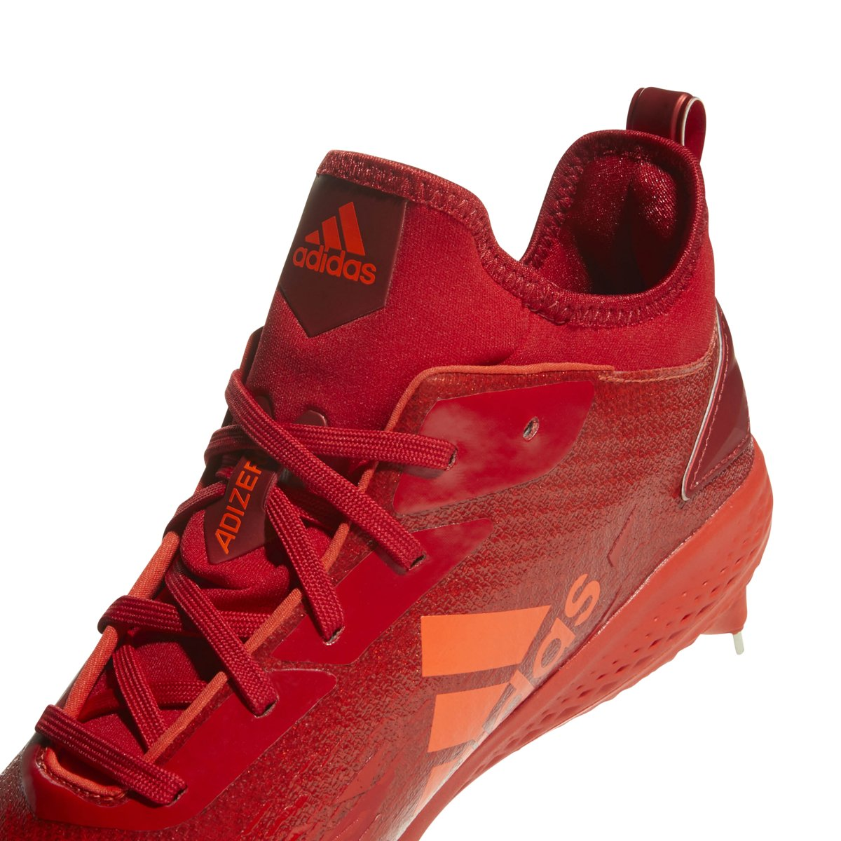 adidas Adizero Afterburner V Dipped Cleat - Men's Baseball 8.5 Hi Res Red/Scarlet/Solar Red by adidas (Image #4)