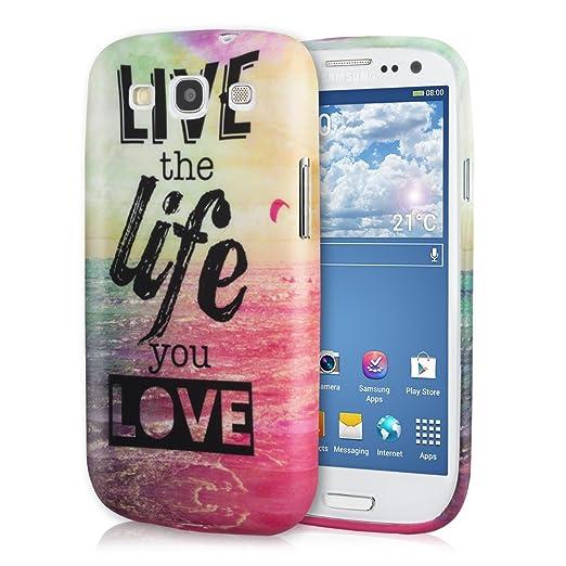 455 opinioni per kwmobile Cover per Samsung Galaxy S3 / S3 Neo- Custodia in silicone TPU- Back