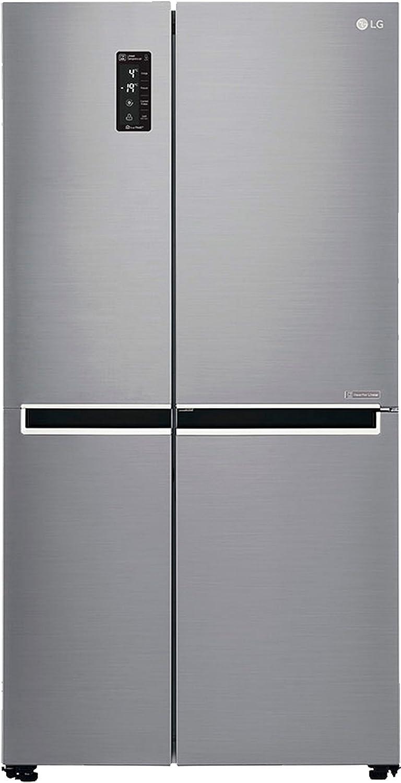 Lg 687 L Frost Free Side By Refrigeratorgc B247sluvapzqebn Refrigerator Electrical Wiring Diagram Pdf Platinum Silver Inverter Compressor Home Kitchen