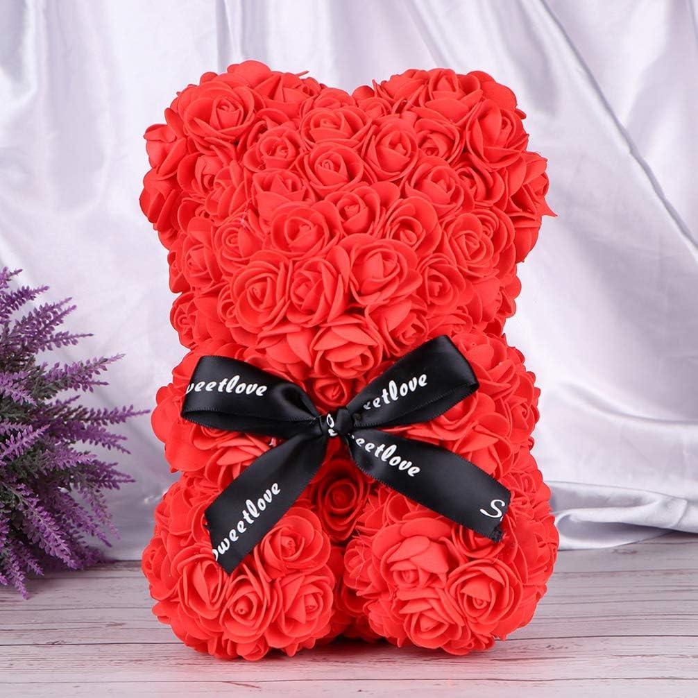 ifundom 10Pcs Mod/èle Ensemble Ours en Forme de Coeur Moule pour Bricolage Rose Ours Rose Coeur Ornement /à La Main Fournitures danniversaire de Mariage