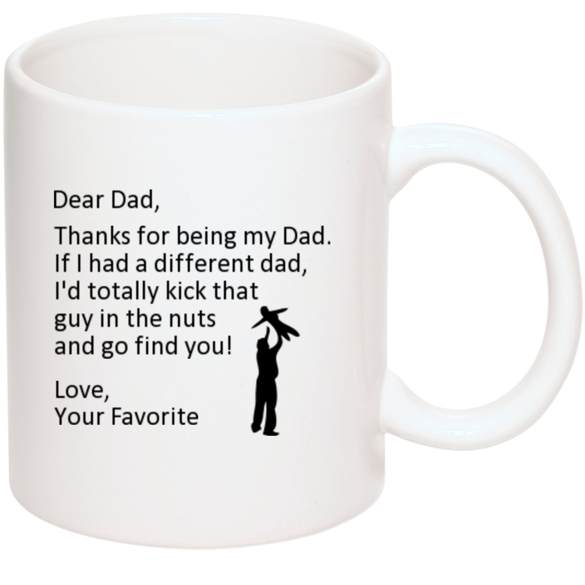 fathers day mug gifts for dad i d kick another dad in the nuts