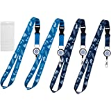 ECOHIP 4 Retractable Cruise Lanyard with Key Card Holder Essentials Accessories Must Haves ID Badge