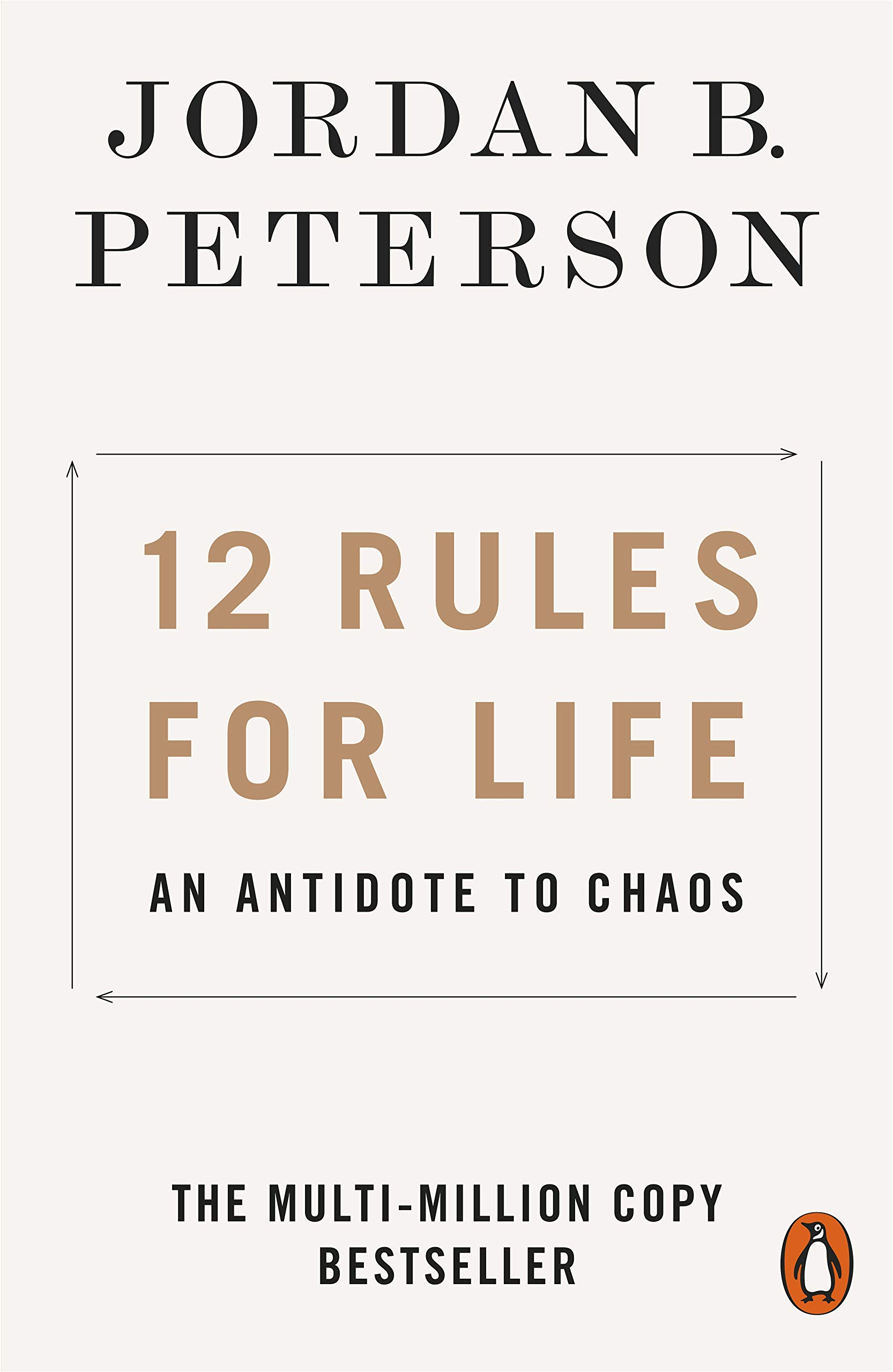 12 Rules for Life: An Antidote to Chaos by Penguin