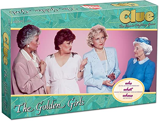 USAopoly CL118-506 The Golden Girls Clue, Multi: Game: Amazon.es: Juguetes y juegos