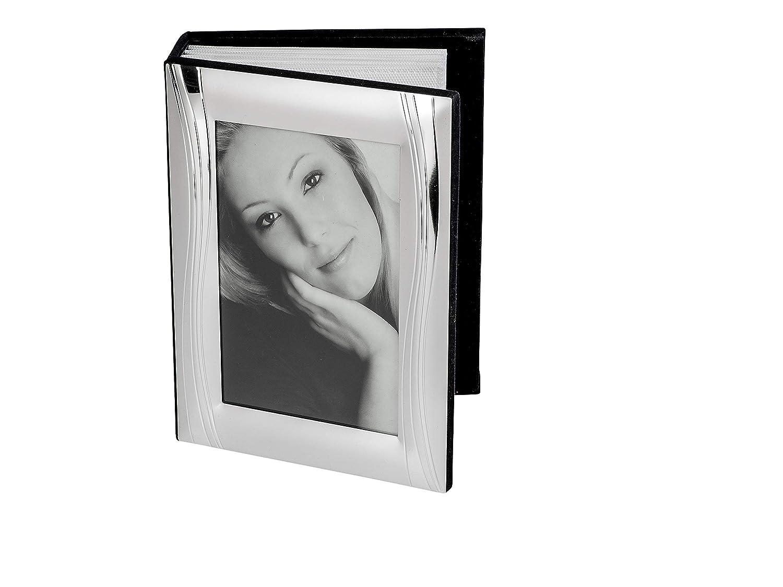 Bollweg Moderno y Muy embellecedor Álbum de Fotos de Aluminio Plata para 10x15 Fotos: Amazon.es: Hogar