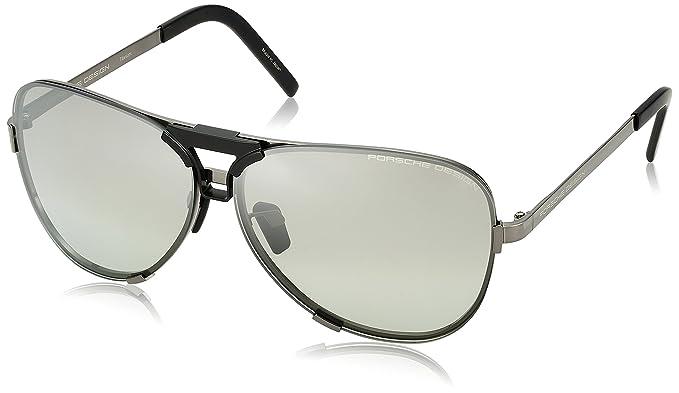 Porsche Design Mens P8678 P/8678 Square Fashion Sunglasses 67mm