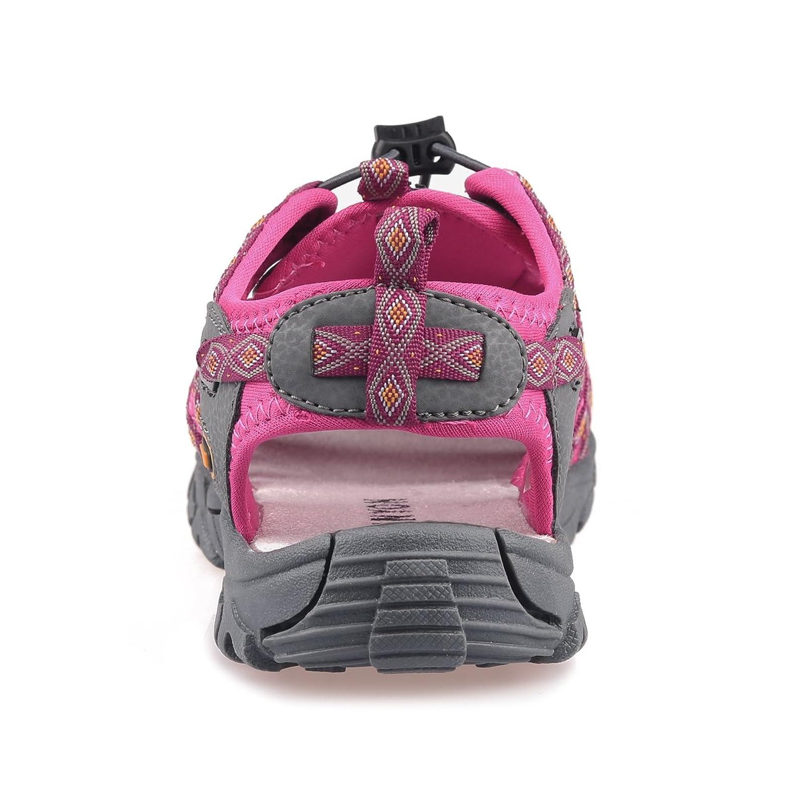 GRITION Women Outdoor Summer Sandals Adjustable Closed - 3