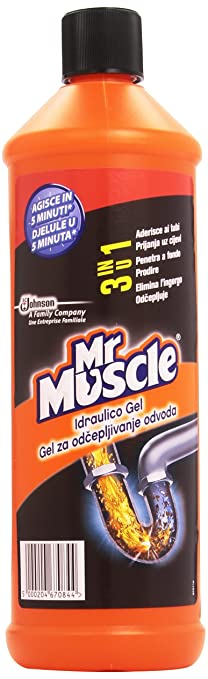 19 opinioni per Mr Muscle Idraulico Gel 3in1- 1000 ml