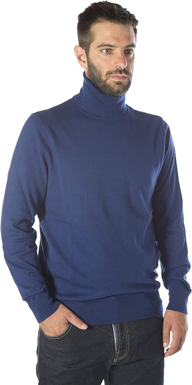 MY BASIC Jersey básico Cuello Cisne de Algodon-Cachemira para ...