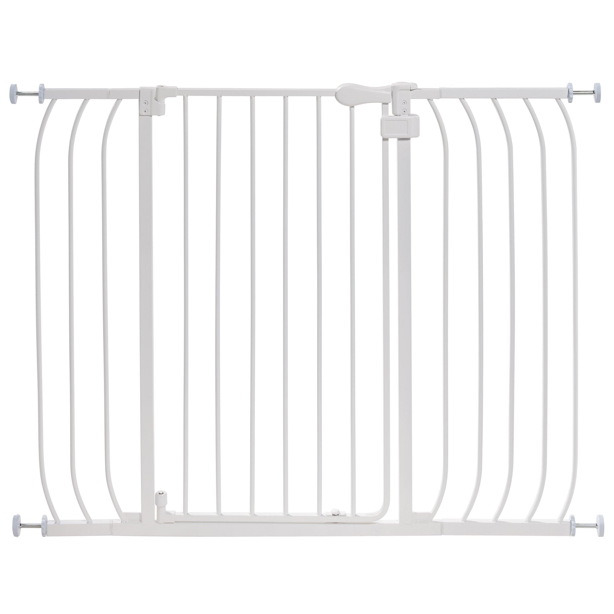 Summer Infant Multi-Use Extra Tall Walk-Thru Gate White 1
