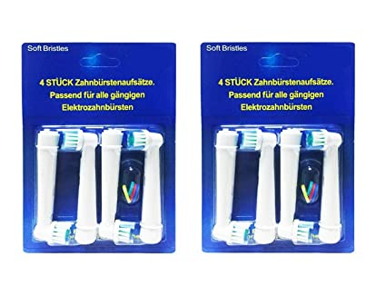 Cabezales de repuesto para cepillo de dientes compatibles con Oral-B, SB-17A