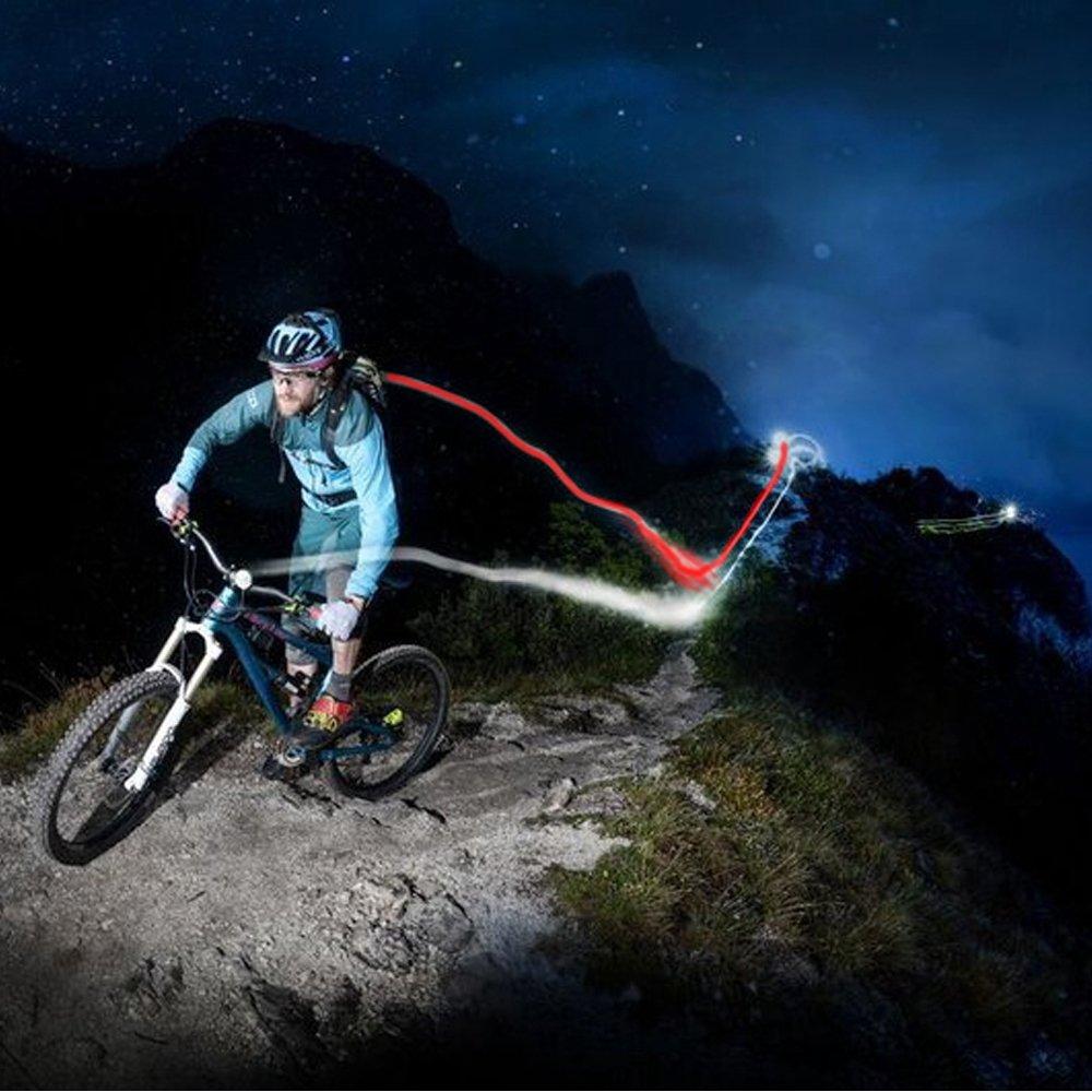 Usb Rechargeable Bike Light Set Akale Super Bright