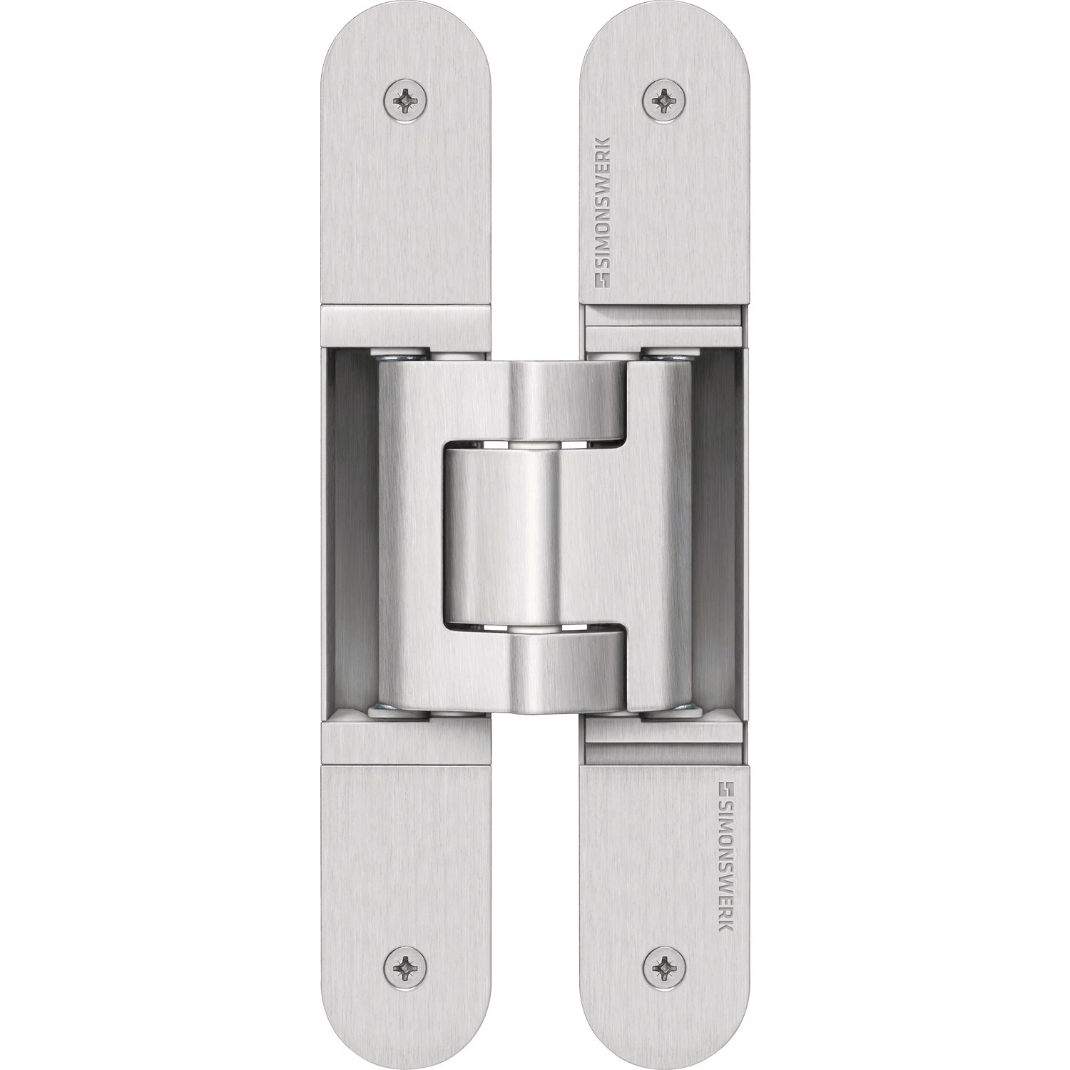 Simon 5  400687  12602  5  400611  0  Tectus Te 540  3D Door Hinge Covers for Blunt Door Stainless Steel Light, Price/Piece Simonswerk 5 400687 0 12602