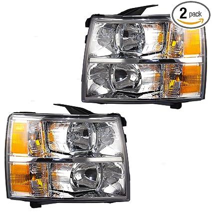Chevrolet GM OEM 07-13 Silverado 1500-Headlight 22853027