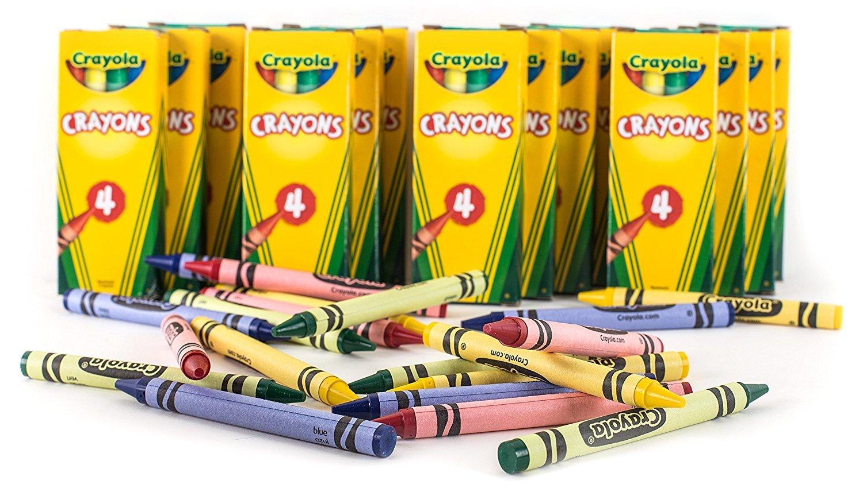 Crayola 4-ct. Crayon Party Favor Pack, 24 Boxes by Crayola