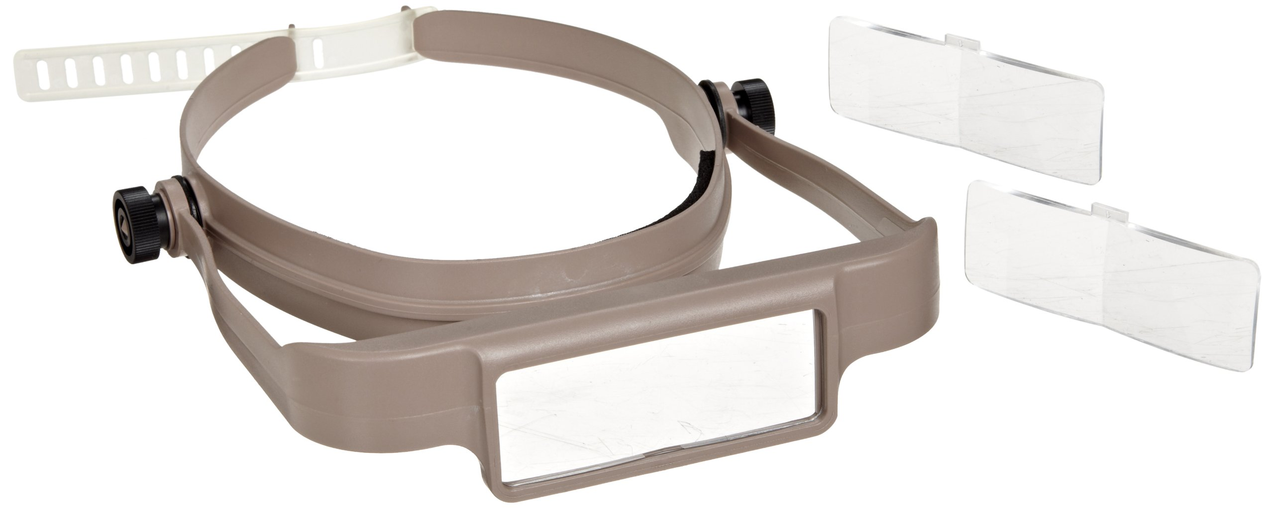Donegan OSC OptiSIGHT Binocular Magnifying Visor, Tan