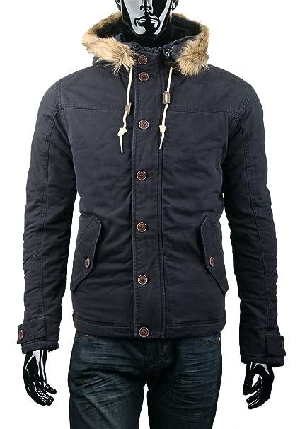 Chaqueta para hombre MZGZ de algodón abrigo para Military Otoño/invierno 009 French Brand: Amazon.es: Ropa y accesorios