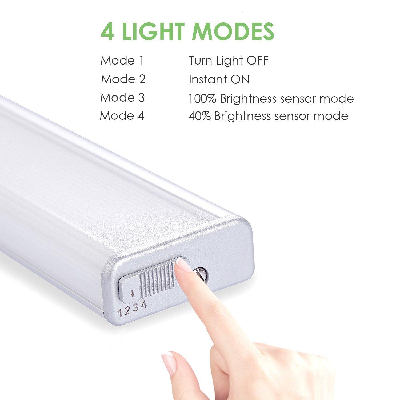 Lampara Armarios, LOFTER 27 LED Luz Sensor de Movimiento: Amazon.es: Iluminación