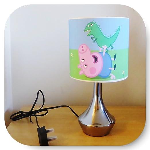 George peppa pig bedside lamp boys bedroom light lamp shade george peppa pig bedside lamp boys bedroom light lamp shade aloadofball Choice Image