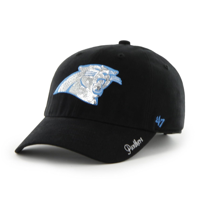 Amazon.com   NFL Carolina Panthers Women s Sparkle Team Color 6a880ed68