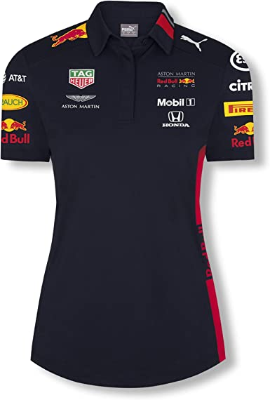 Red Bull Racing Official Teamline Camisa Polo, Azul Mujer X-Small Camiseta Manga Corta, Racing Aston Martin Formula 1 Team Original Ropa & Accesorios: Amazon.es: Ropa y accesorios