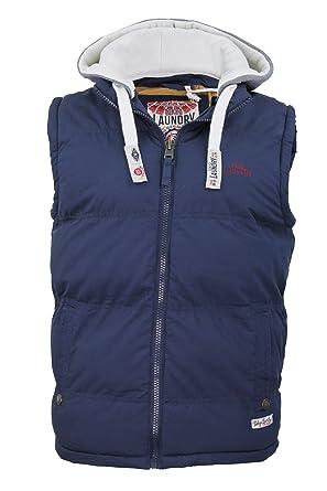 Mens Tokyo Laundry body warmer gilet 'Brookmere Two' Hoodie / Hooded / Jacket