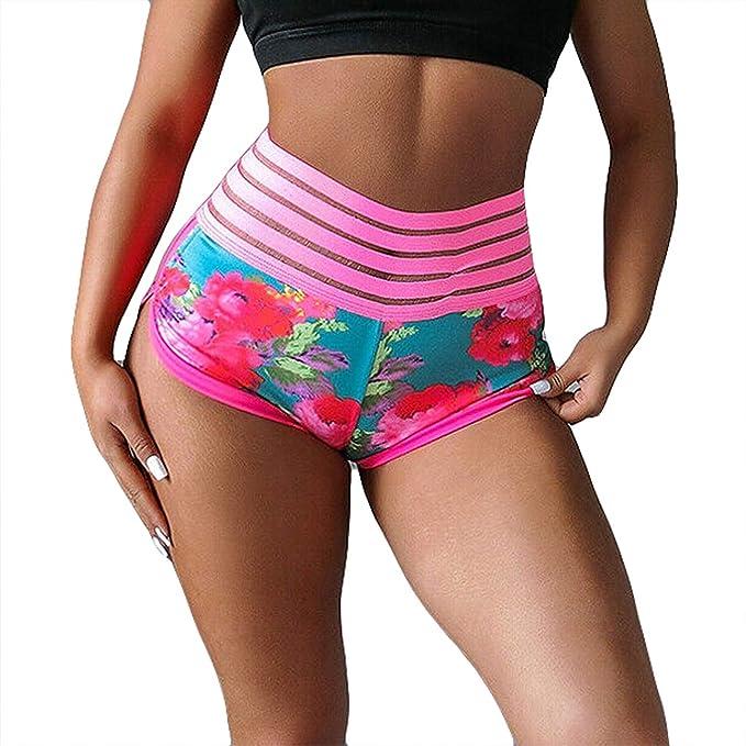 Amazon.com: Folima - Pantalones cortos de yoga para mujer ...