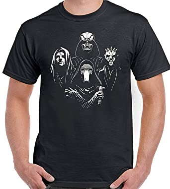 d91570067b Star Wars Rhapsody - Mens Funny T-Shirt Top Tee Bohemian Queen Parody:  Amazon.co.uk: Clothing
