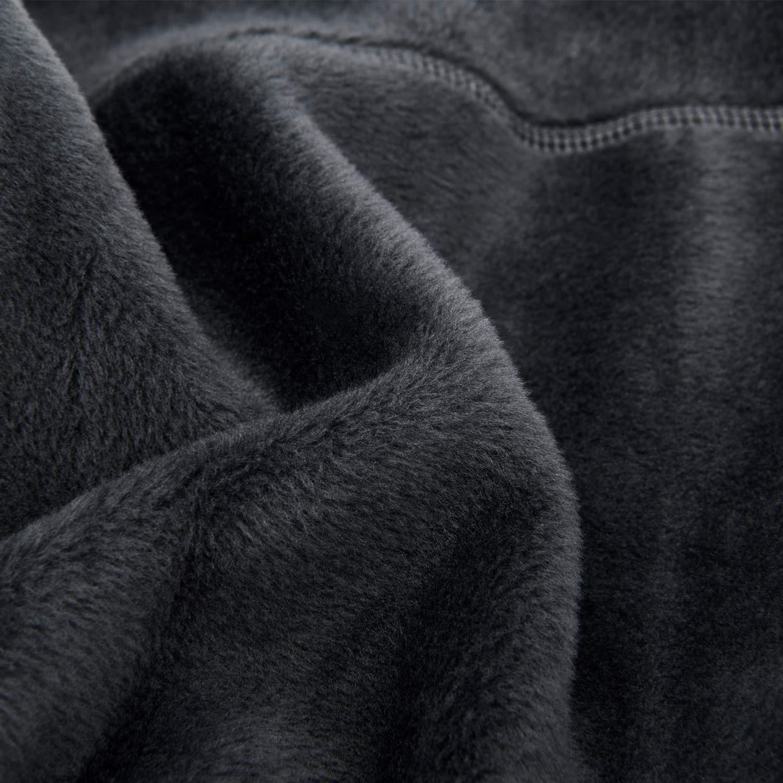 26cm Arcweg Braga de Cuello Hombre Calentador de Cuello Pasamonta/ñas Moto Algod/ón Puro T/érmica C/ómodo Forro Polar para Al Aire Libre Invierno Ciclismo Esqu/í 26