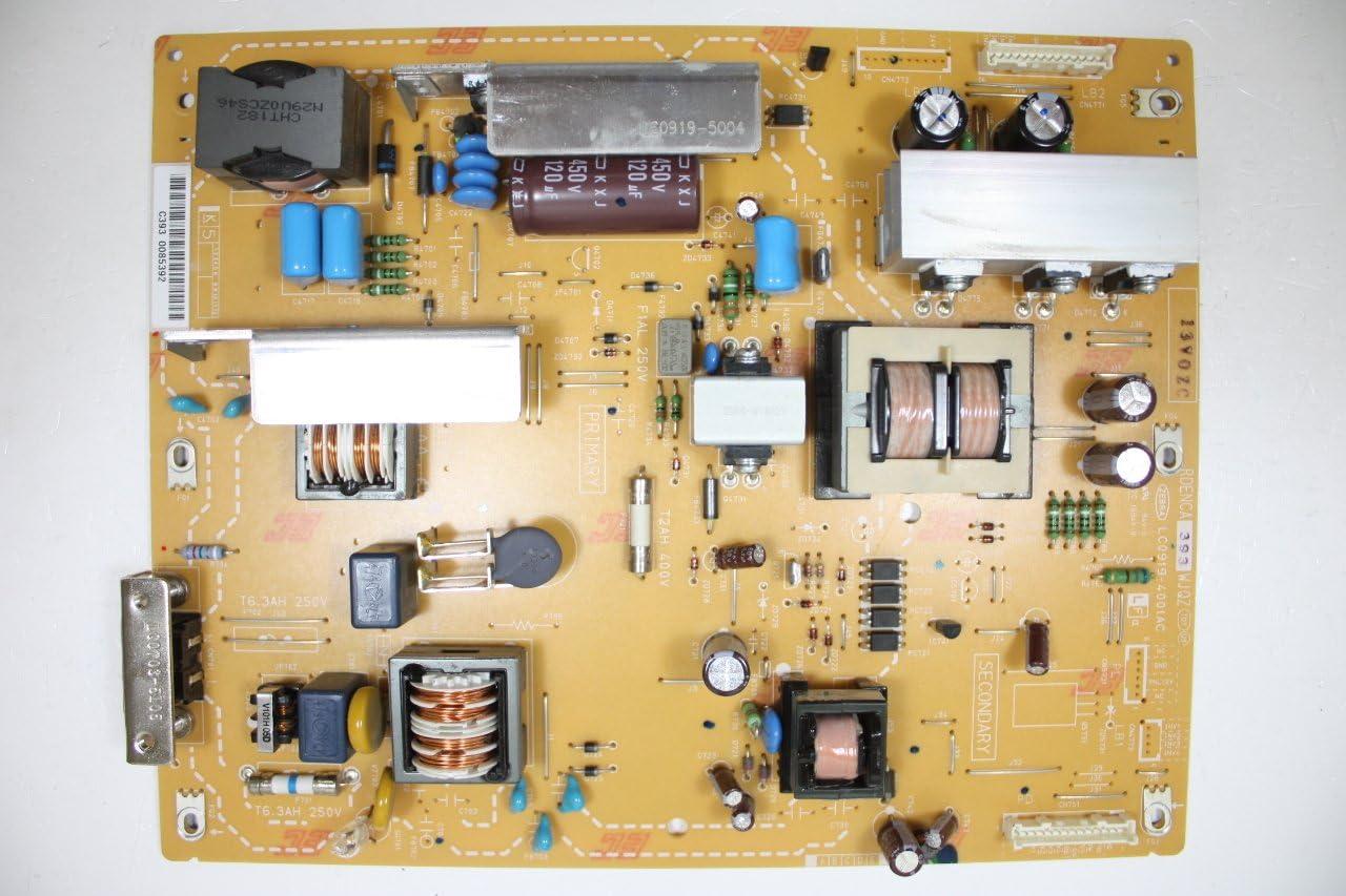 40 LC-40D68UT RDENCA393WJQZ Power Supply Board Unit