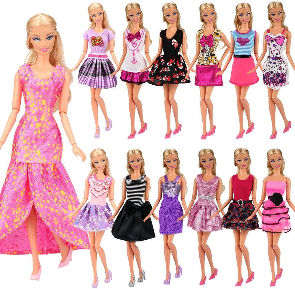 #13 CLOTHES High Quality Handmade 6 Piece Wardrobe Lot 4 Mattel CURVY BARBIE