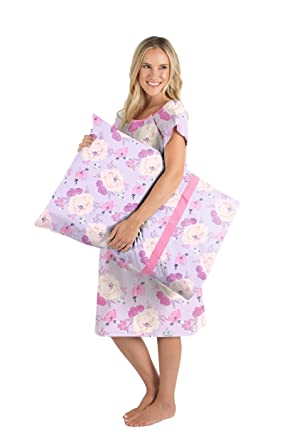 95029d8a712a4 Gownies - Labor and Delivery Maternity Hospital Gown and Pillowcase Set,  Hospital Bag Must Have