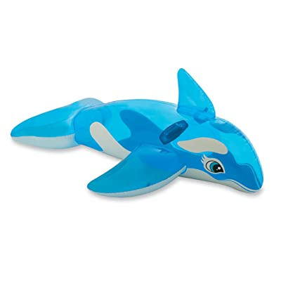"Intex Lil' Whale Ride-On, 60"" X 45"", for Ages 3+: Toys & Games"