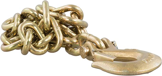BSC3842 3//8x42 Inch Class 4 Trailer Safety Chain with 1-Clevis Style Slip Hook-43 Proof Buyers Products