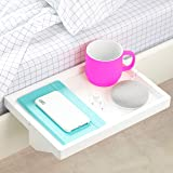 (Regular, White) - The Original BedShelfie Bedside Shelf - 3 Colours / 2 Sizes - AS SEEN ON Business Insider (in White)