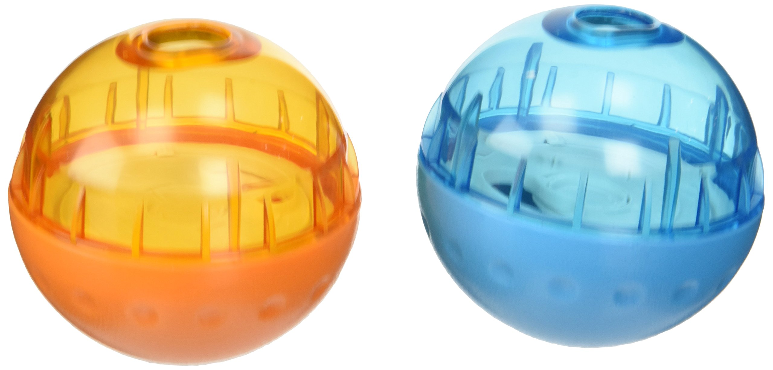 2-Pack of Our Pets Smarter Interactive IQ Treat Ball Dog Toy, 3'' - Color May Vary