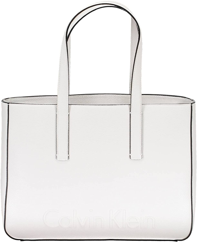 Calvin Klein Edge Medium Mujer Handbag Negro