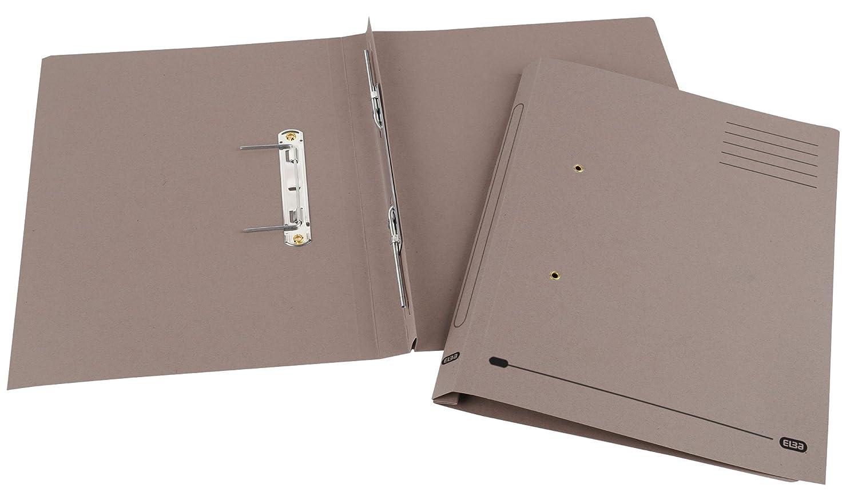 Foolscap Green Elba 100090160 Spirosort Spring Files 285 gsm 36 mm Capacity Pack of 25