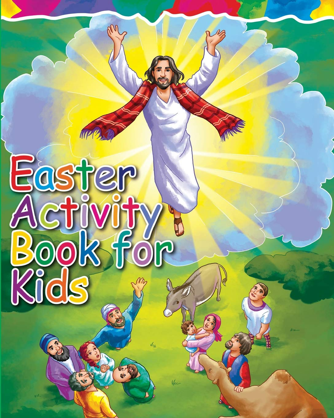 Amazon.com: Easter Activity Book for Kids: The Story of ...