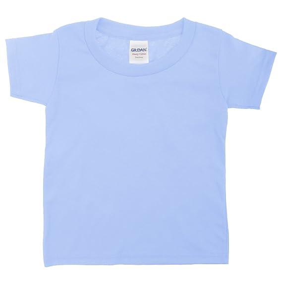 Gildan - Camiseta de manga corta de algodón unisex para niños: Amazon.es: Ropa y accesorios